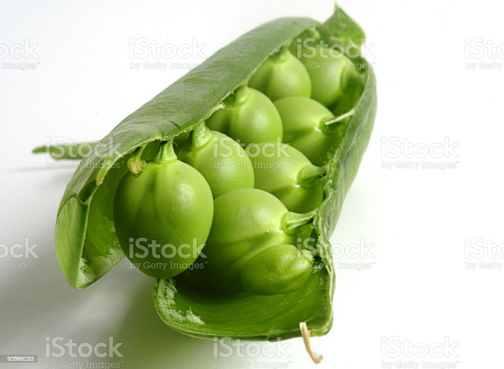 Pea Pod royalty-free stock photo