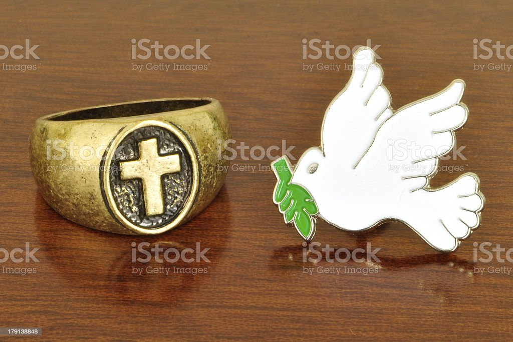 Peace And Love stock photo