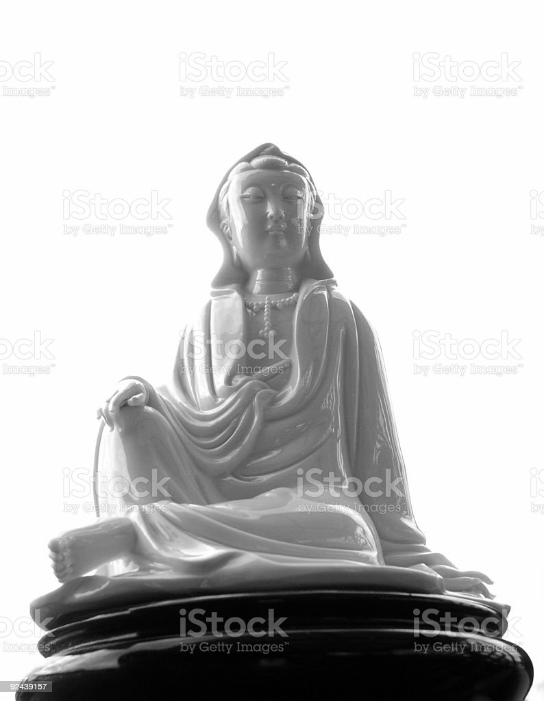 Peace And Serenity  In Stillness royalty-free stock photo