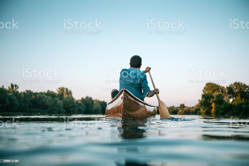 Peace and tranquility stock photo