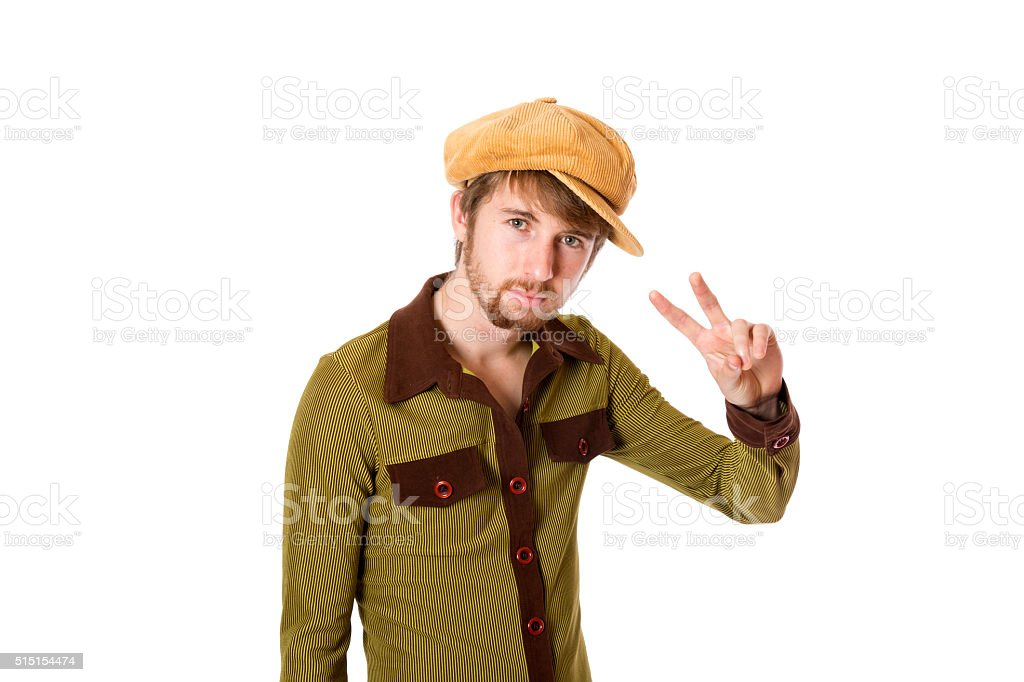 Peace Brother stock photo