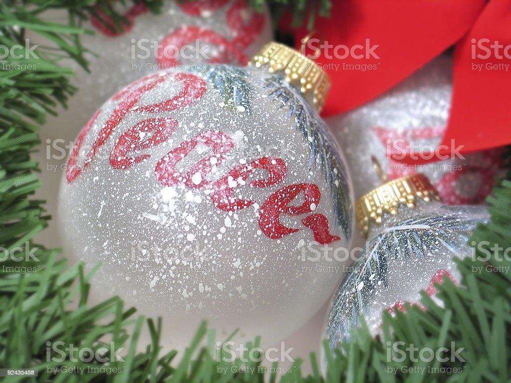 Peace Bulb royalty-free stock photo