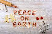 Peace On Earth Cookies