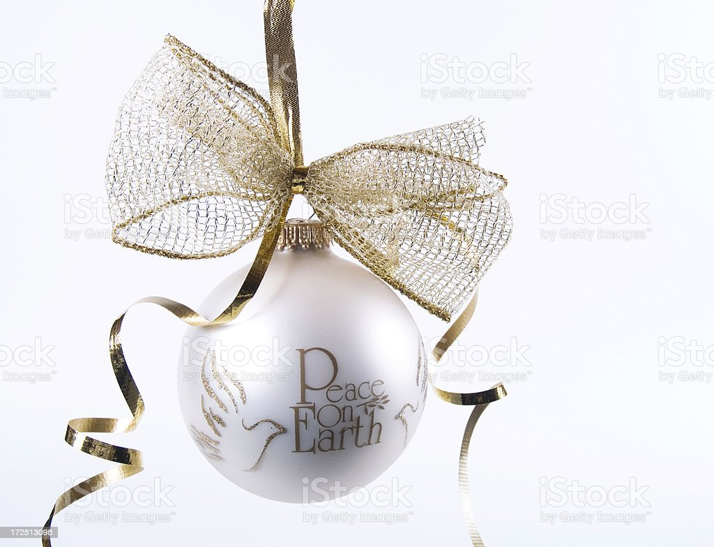 Peace On Earth royalty-free stock photo