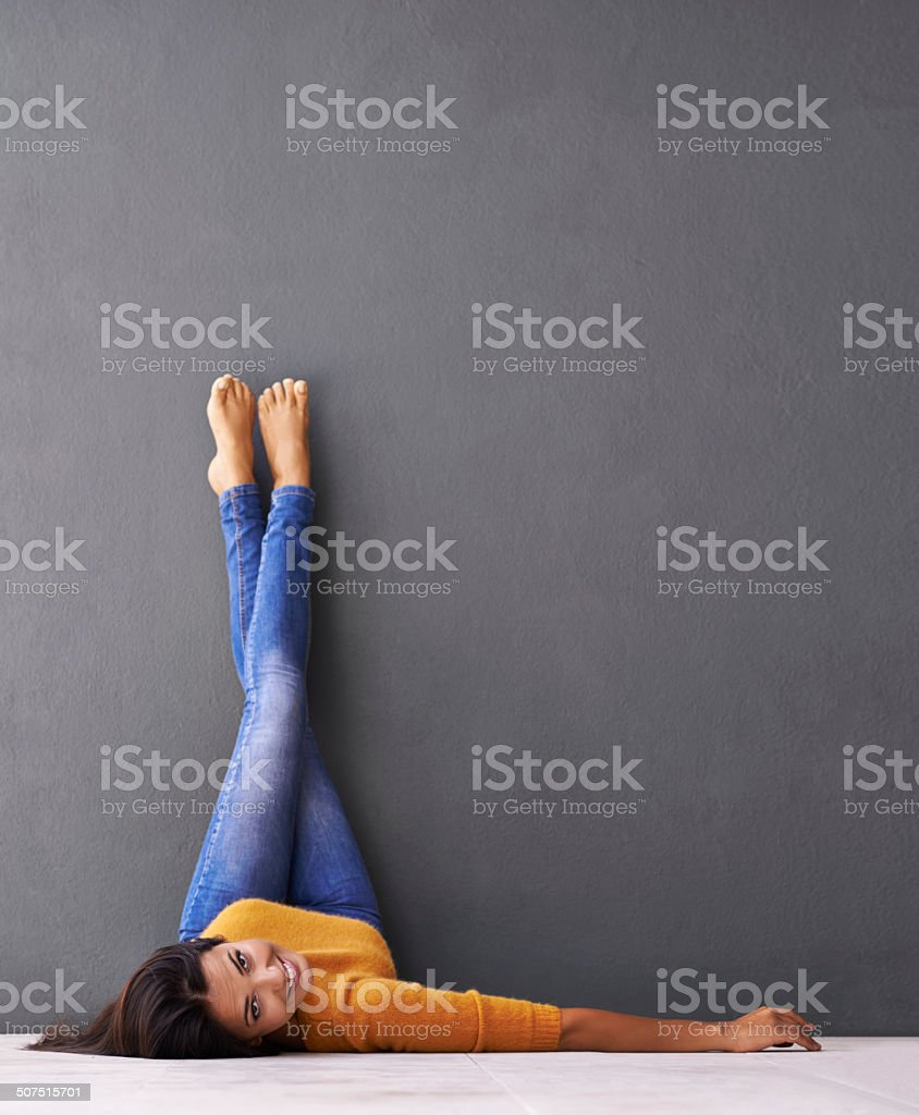 Peace out... stock photo
