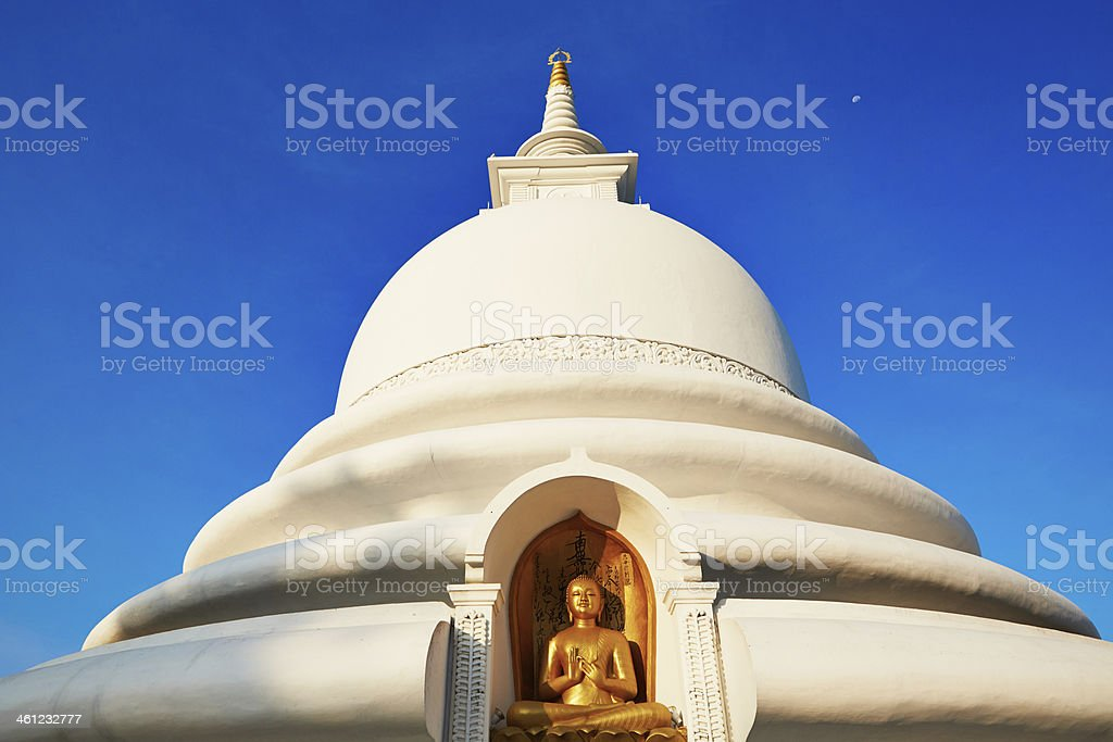Peace Pagoda stock photo