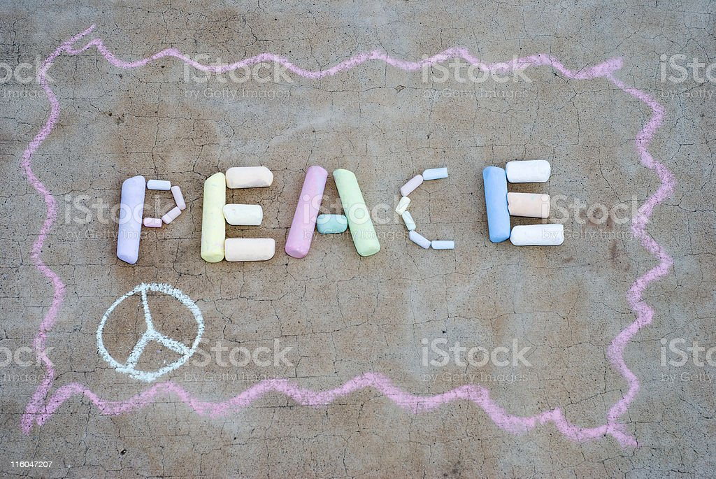 Peace #2 royalty-free stock photo