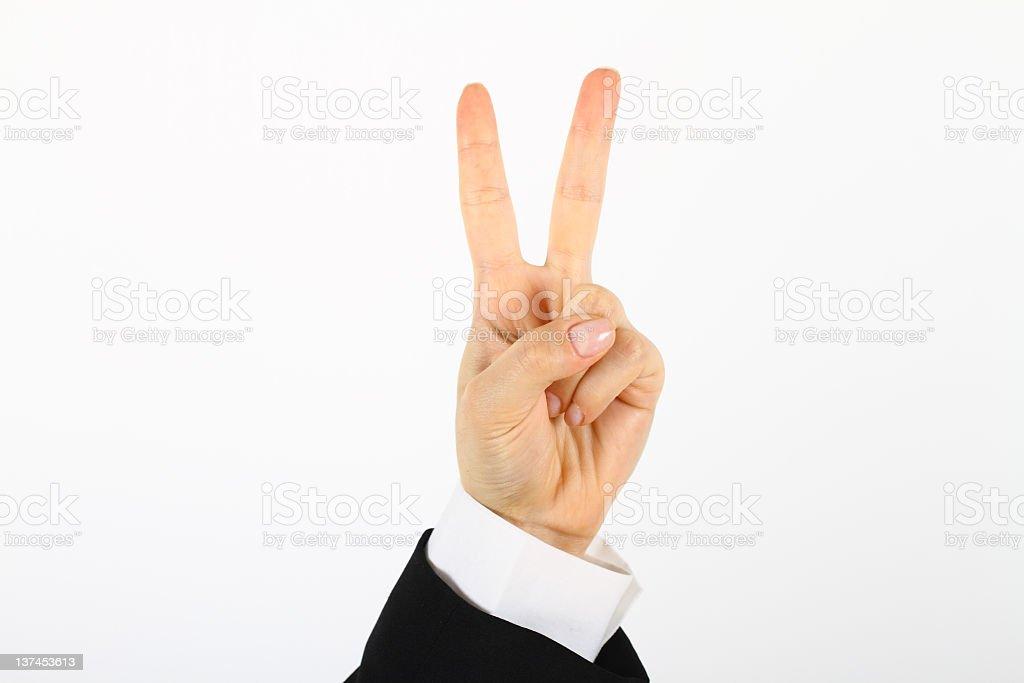 Peace royalty-free stock photo