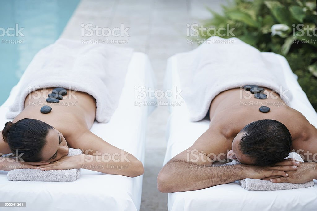 Peace relaxation and someone to love stock photo