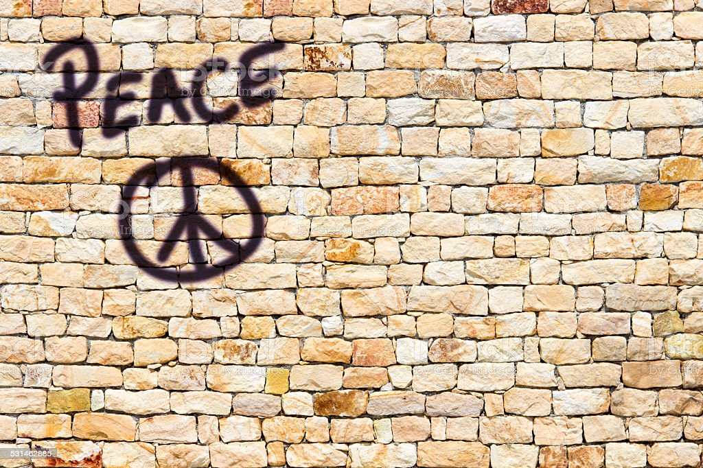 Peace Sing stock photo