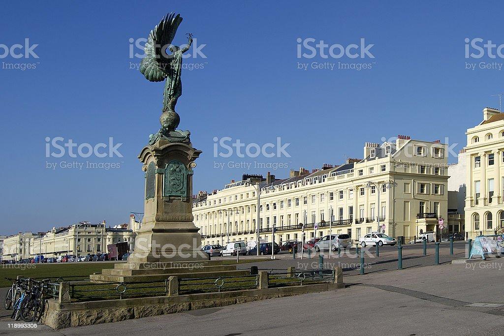Peace Statue. Hove. England stock photo