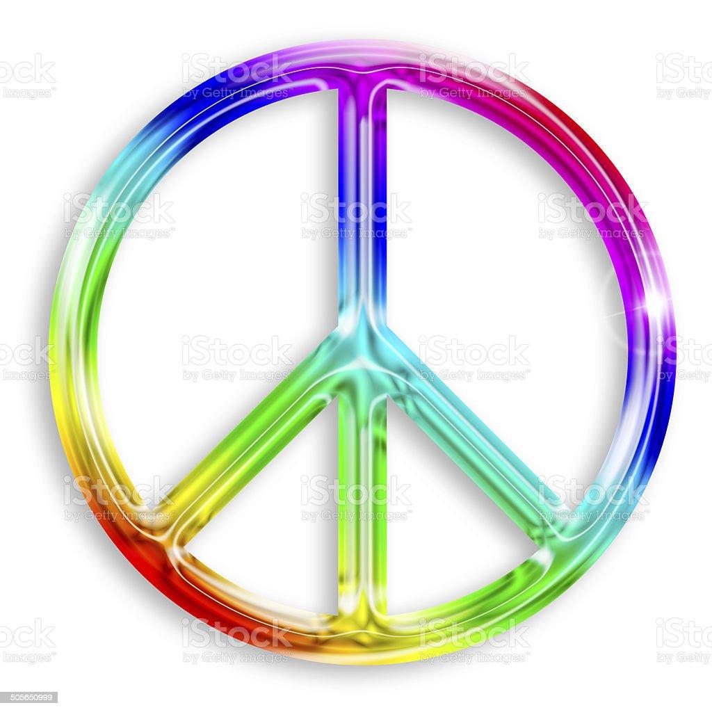 peace symbol royalty-free stock photo