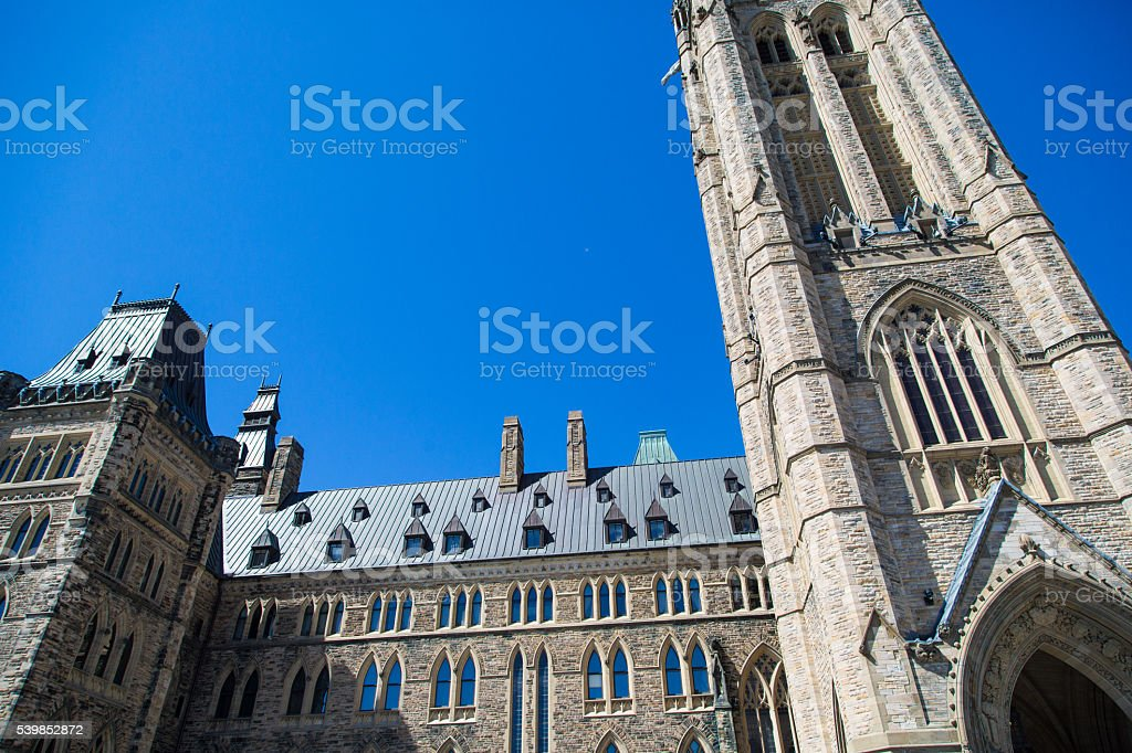 Peace Tower stock photo