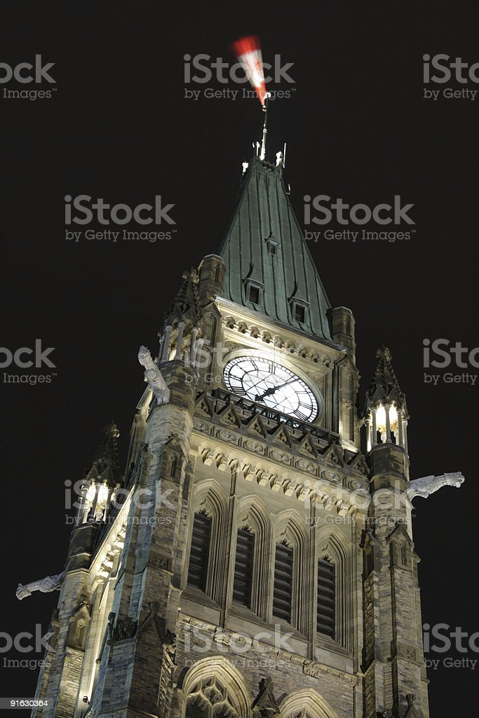 Peace tower royalty-free stock photo