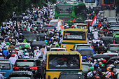 212 peaceful action, in Jakarta, Indonesia