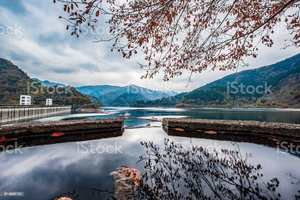 Peaceful Autumn stock photo