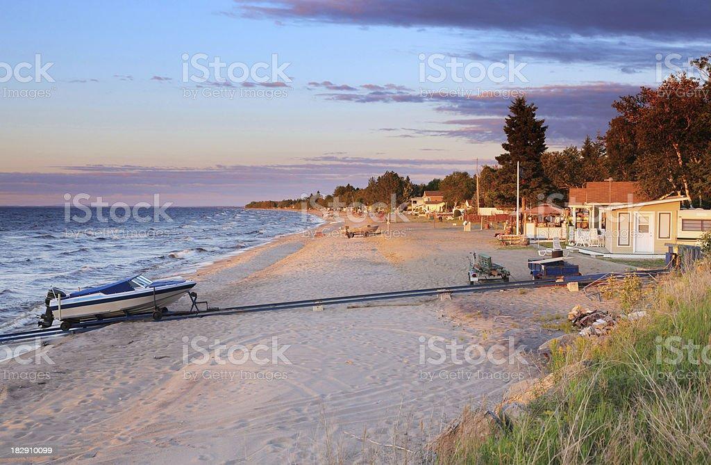 Peaceful Beach stock photo