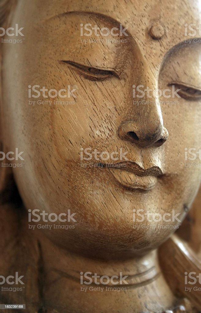 Peaceful Buddha royalty-free stock photo