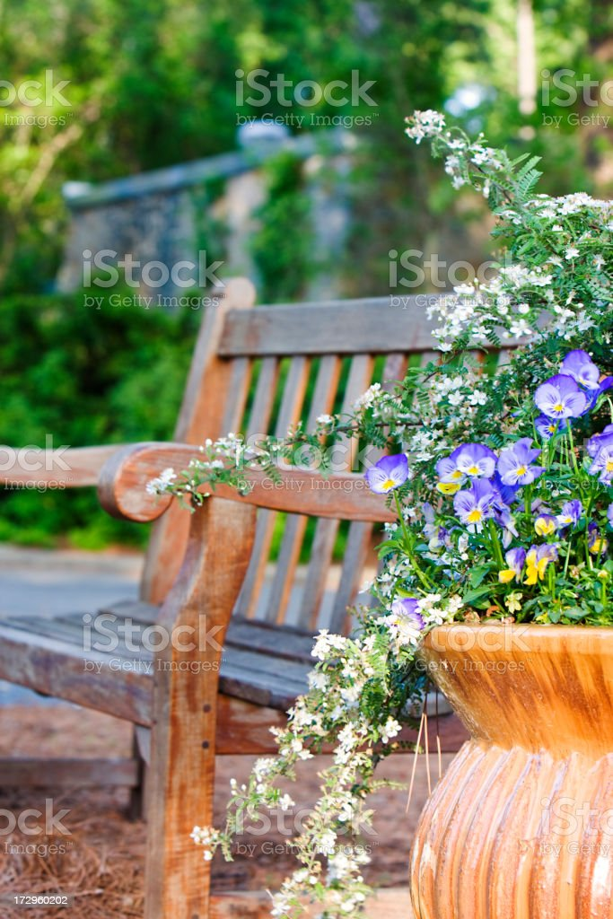 Peaceful Corner royalty-free stock photo