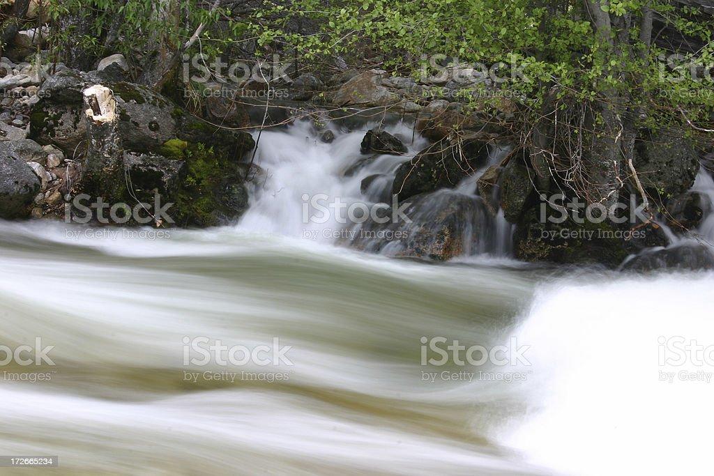 Peaceful Flow stock photo