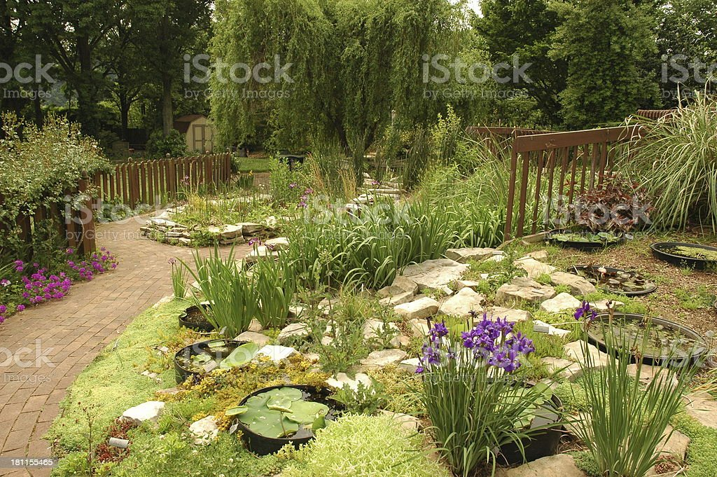 Peaceful Garden royalty-free stock photo