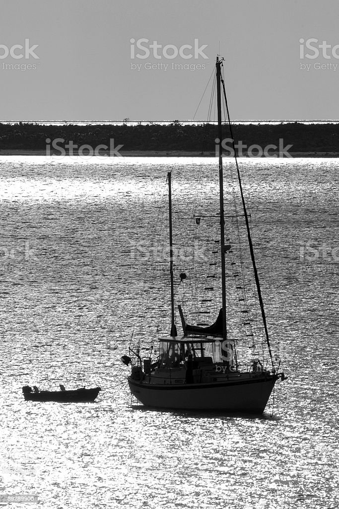Peaceful harbor royalty-free stock photo
