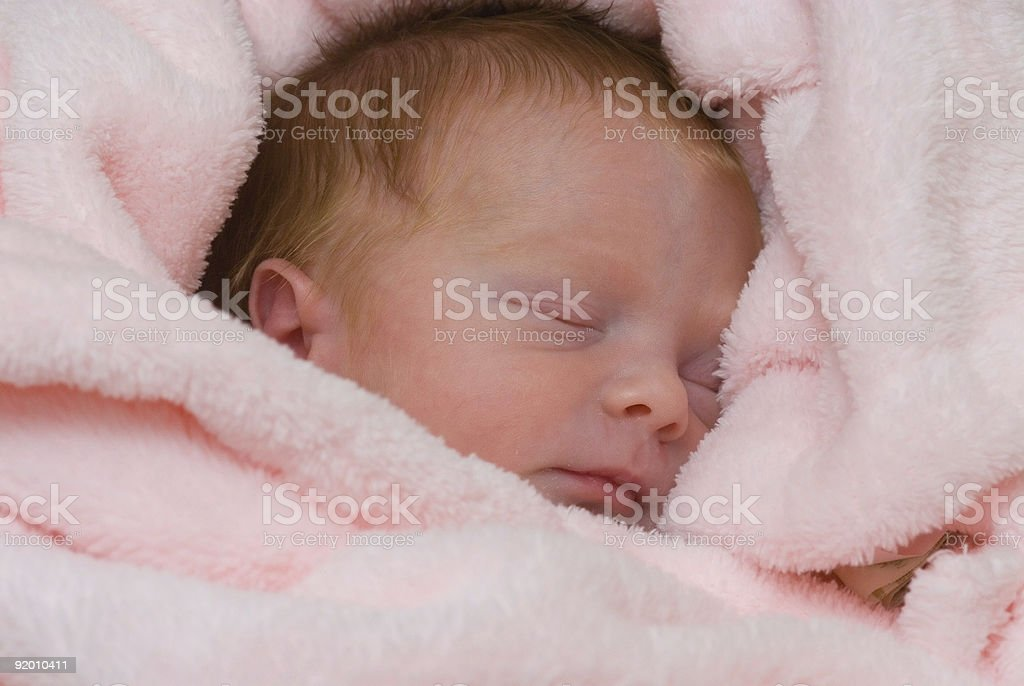 Peaceful in Pink royalty-free stock photo