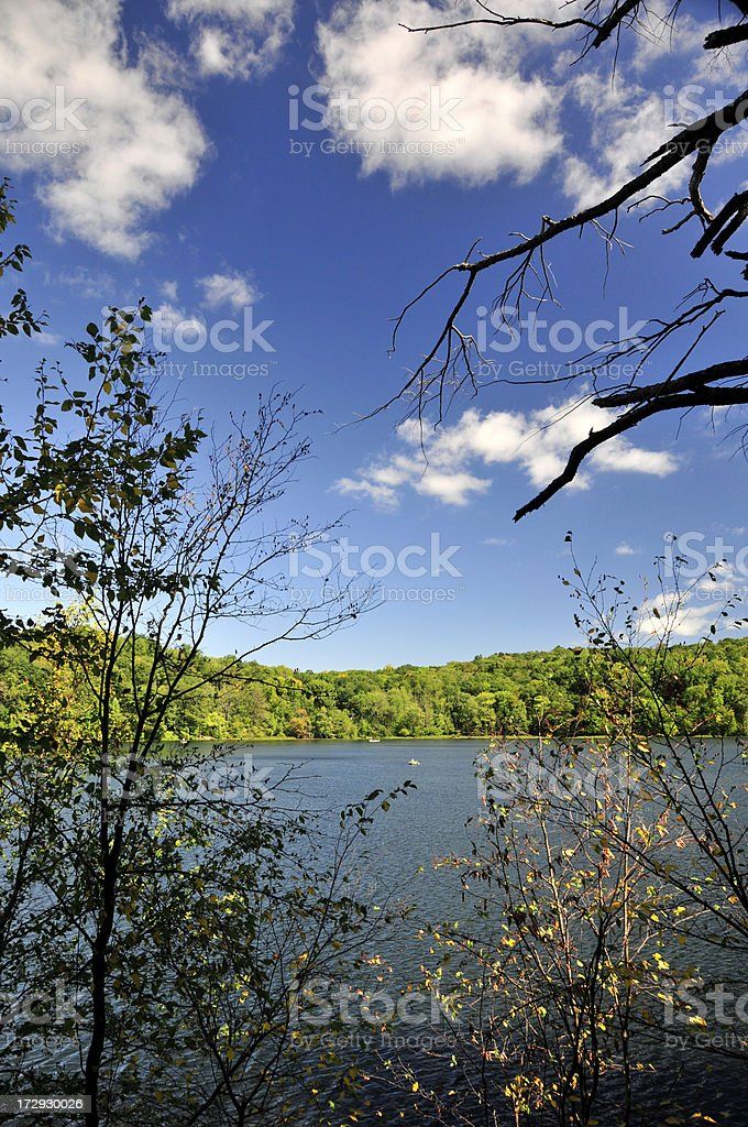 Peaceful Lake stock photo