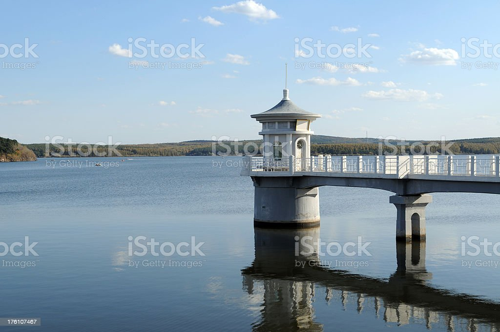 Peaceful Lake - XLarge royalty-free stock photo