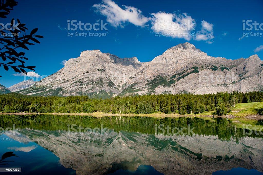 Peaceful Mountain Lake royalty-free stock photo