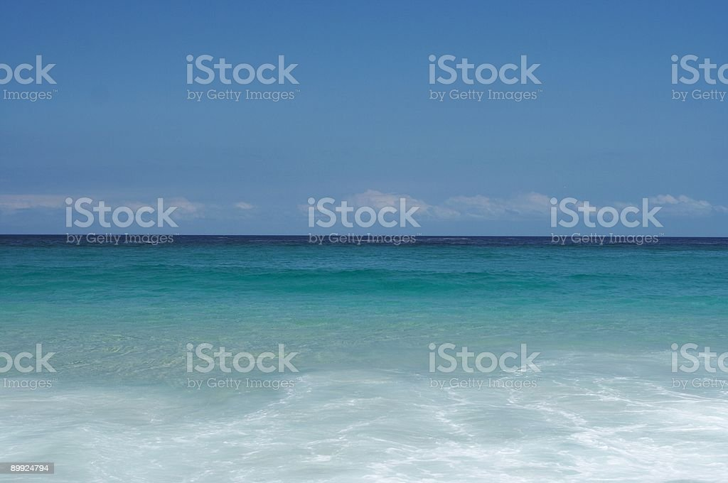 Peaceful ocean royalty-free stock photo