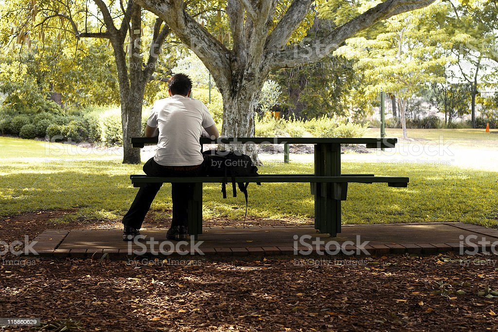 Peaceful Park royalty-free stock photo