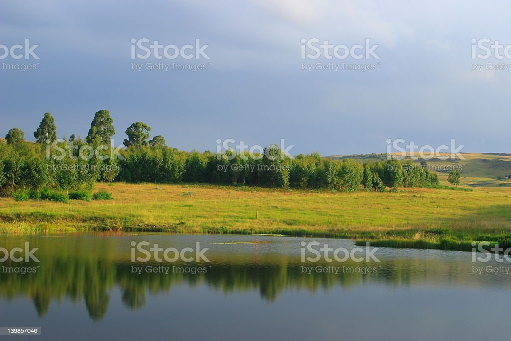 Peaceful royalty-free stock photo