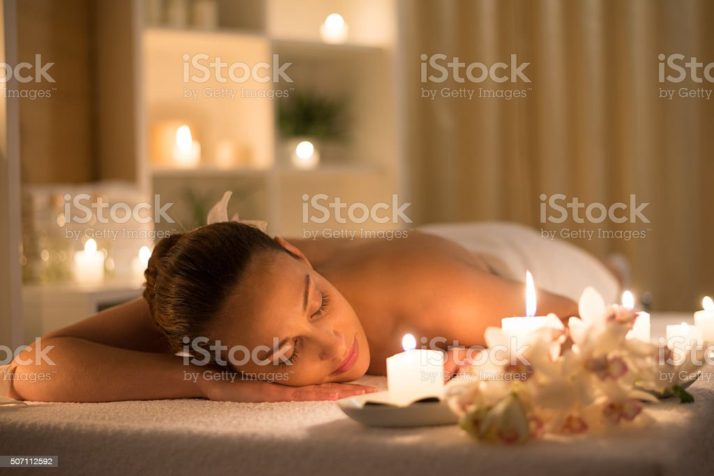 Peaceful stock photo