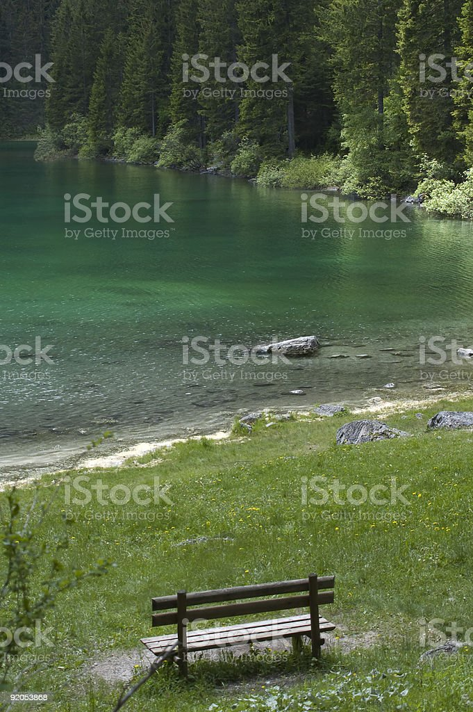 peaceful place stock photo