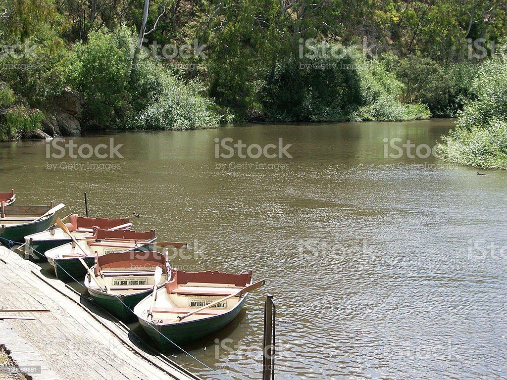 Peaceful Port stock photo