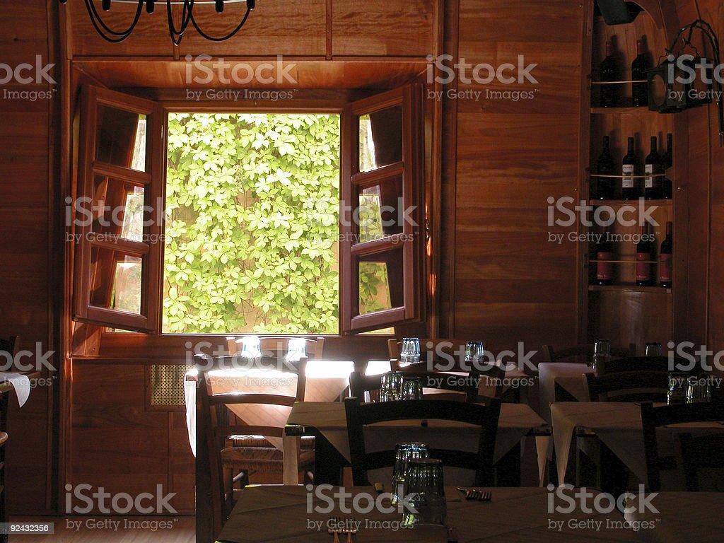 Peaceful Restaurant royalty-free stock photo