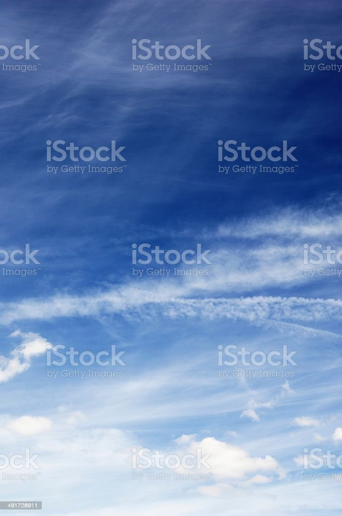 Peaceful Sky and Clouds royalty-free stock photo