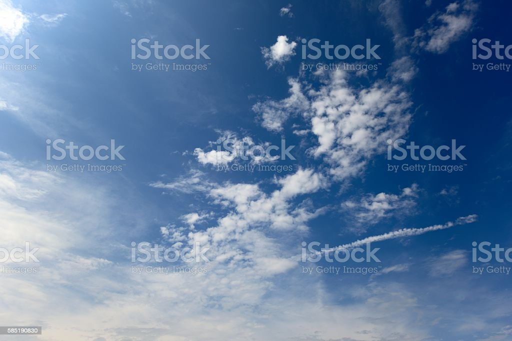 Peaceful Sky stock photo