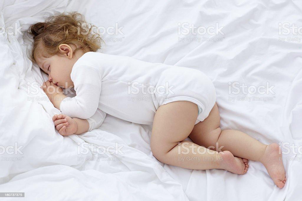 Peaceful sleep stock photo