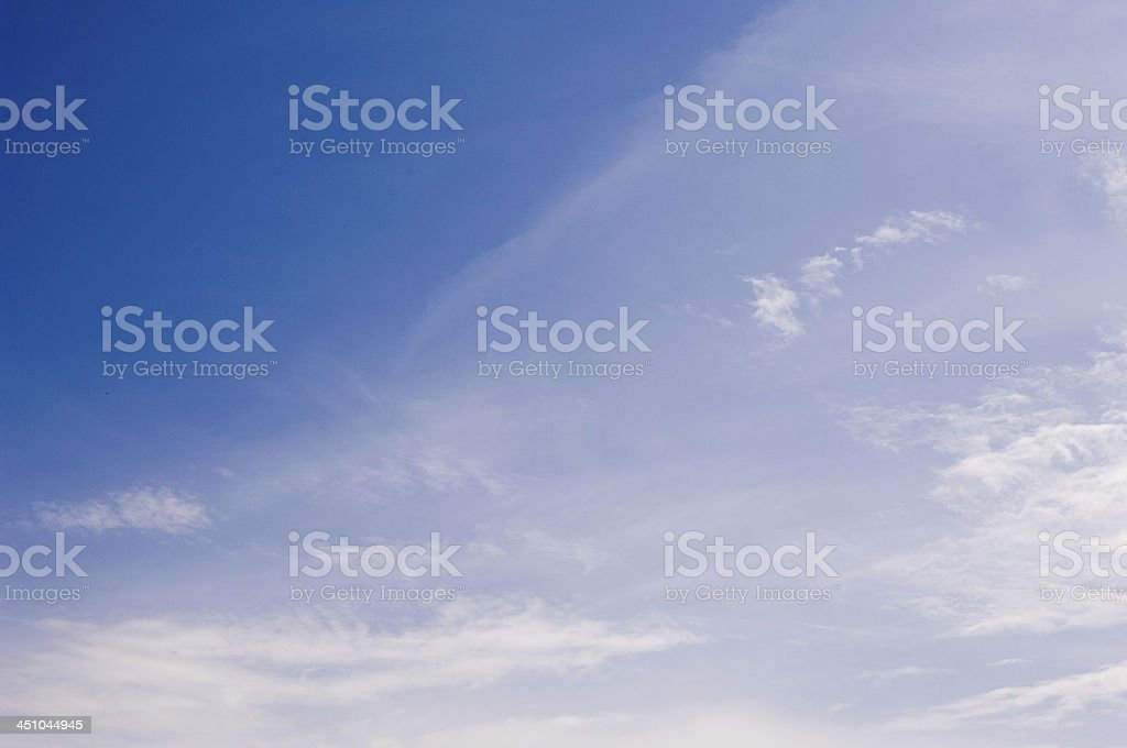 Peaceful Summer Sky royalty-free stock photo