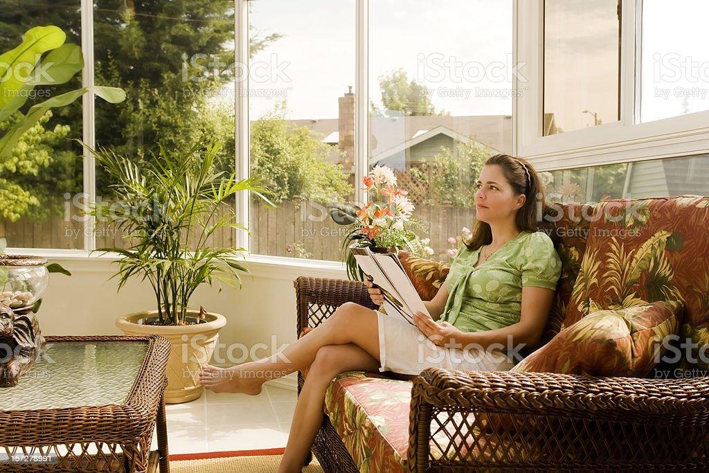 Peaceful Surroundings royalty-free stock photo