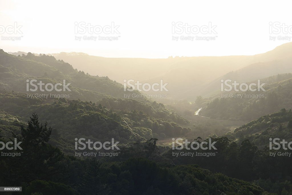 Peaceful valley royalty-free stock photo