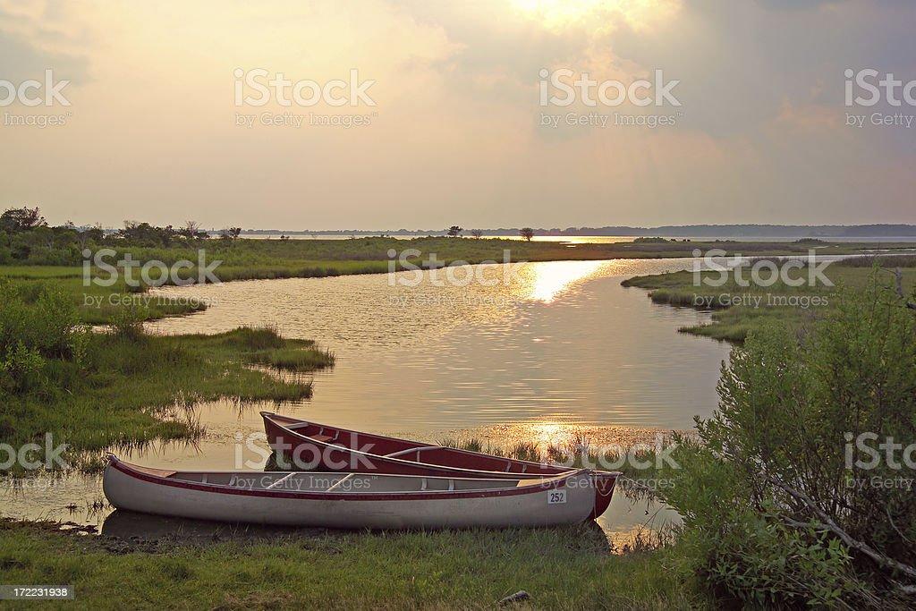 peaceful water stock photo