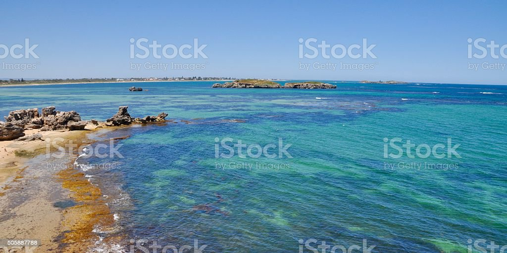 Peaceful Waters: Cape Peron stock photo