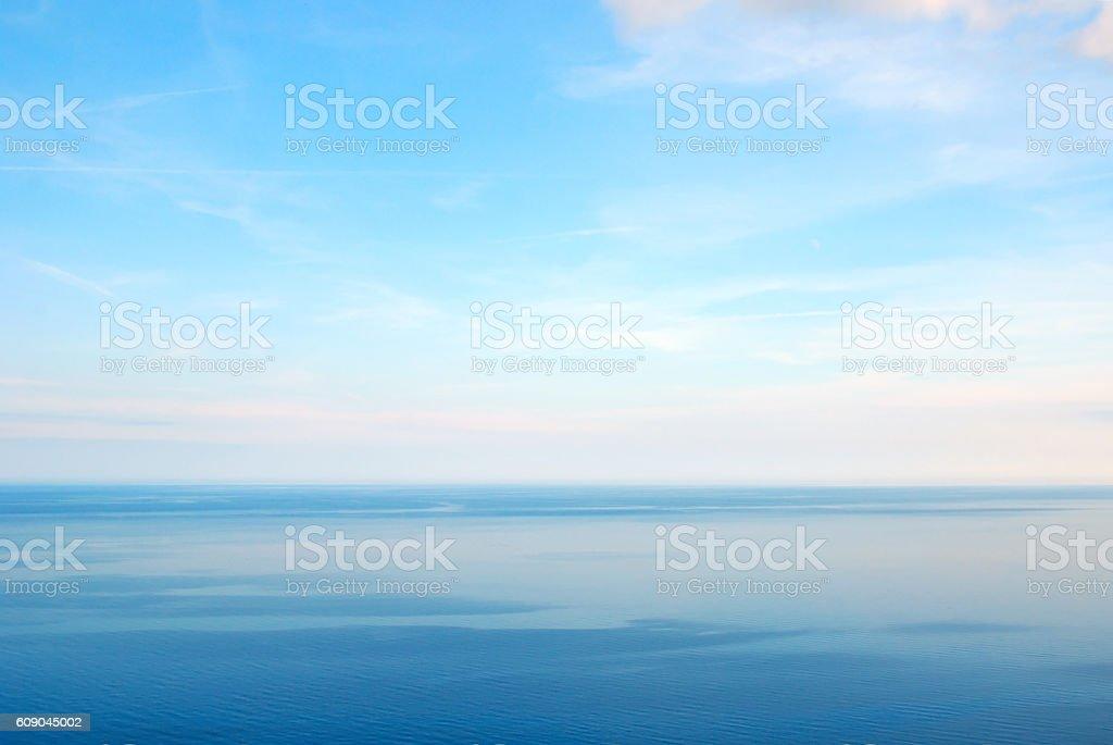Peacefull ocean stock photo