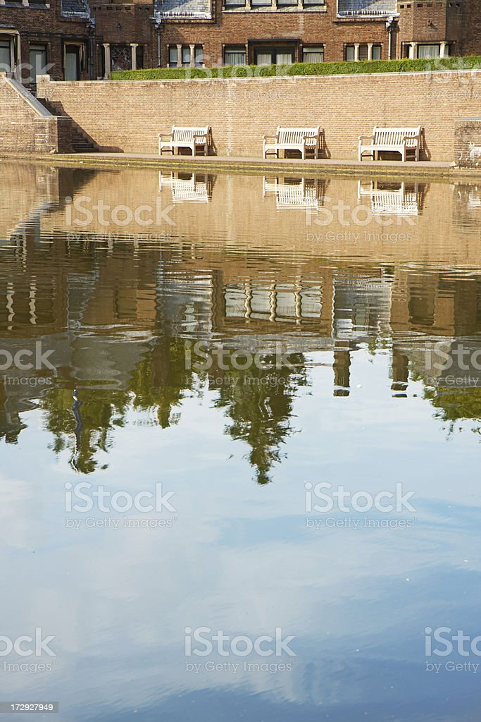 Peacefull resting place. stock photo