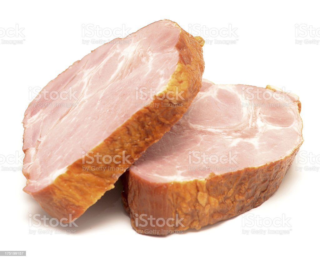 peaces of meat royalty-free stock photo