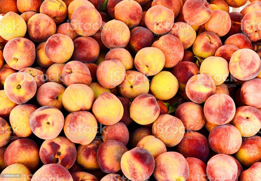 Peach background stock photo