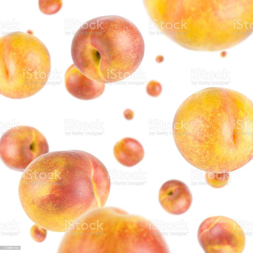 Peach Explosion royalty-free stock photo